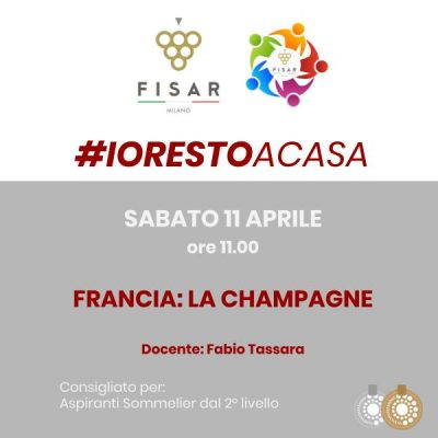 #iorestoacasa Francia la Champagne