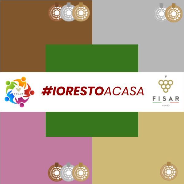 #IORESTOACASA #IODEGUSTOACASA con FISAR Milano