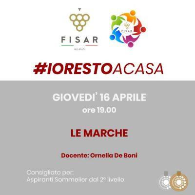 #iorestoacasa Le Marche