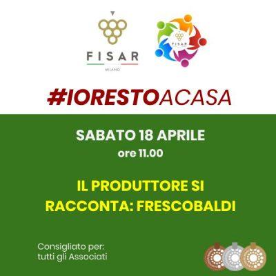 #iorestoacasa Frescobaldi