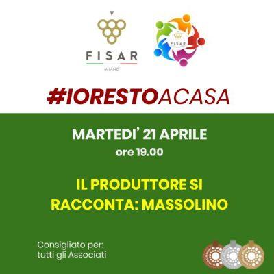 #iorestoacasa Il produttore si racconta: Massolino