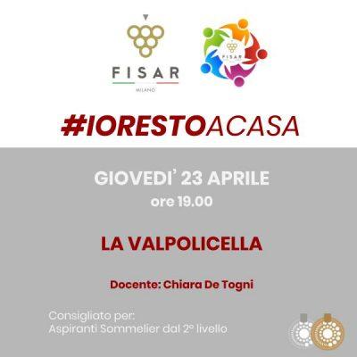 #iorestoacasa La Valpolicella