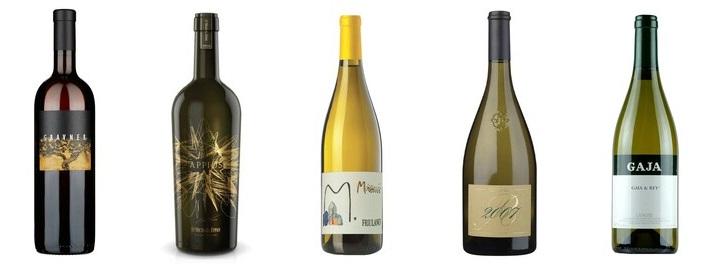 I grandi vini bianchi del nord italia