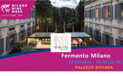 Tutto pronto per Fermento Milano: prende il via oggi pomeriggio l'evento ufficiale della Milano Wine Week