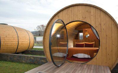 Dormire in una botte di vino, in Portogallo si può