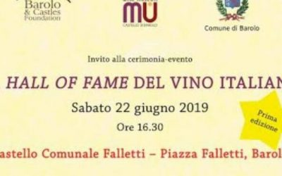 Barolo, nasce la Hall of Fame del vino italiano