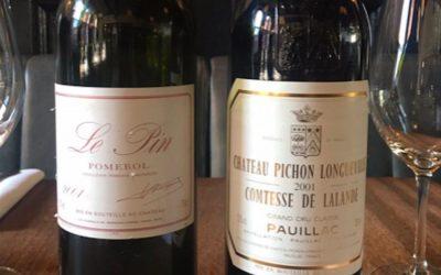 Se il cameriere porta (per errore) un vino da 5000 euro
