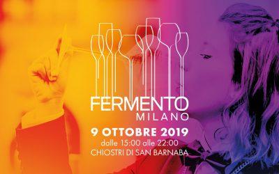 È tutto pronto per la 3a edizione di FERMENTO MILANO!