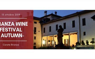 In arrivo il Brianza Wine Festival, Domenica 13 Ottobre: Sommelier FISAR Milano presenti