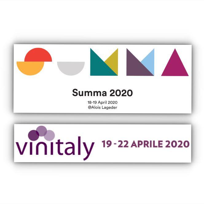 Summa e Vinitaly 2020: in un unico weekend le due fiere vitivinicole più importanti d'Italia