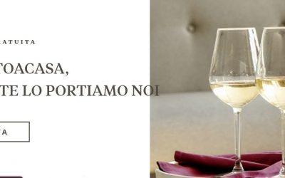"""La cantina emiliana Umberto Cesari lancia """"#iorestoacasa, il vino te lo portiamo noi"""""""