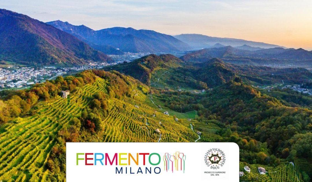 #iorestoacasa e vinco Conegliano Valdobbiadene Prosecco DOCG …e Fermento Milano!