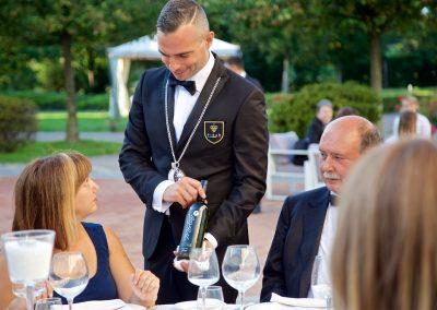Servizio Sommelier al tavolo